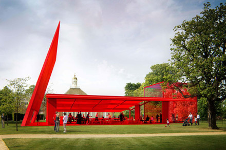 Serpentine Gallery Pavillion, London by Jean Nouvel (updated)
