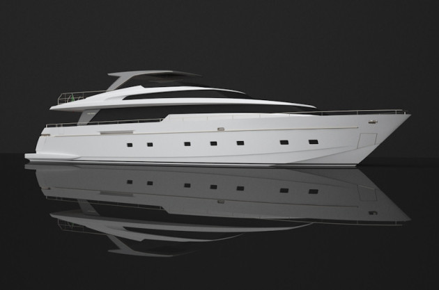 Super luxury yacht – interior design by Rodolfo Dordoni