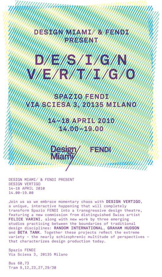 Salone Milan 2010 – Design Vertigo @ Design Miami
