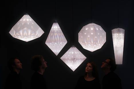Salone Milan 2010 – Amplify lamp by Yves Behar