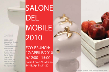 Salone Milan 2010 – Gate 8 Eco-Brunch 17th April