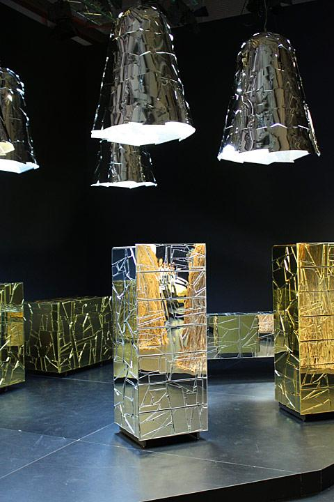 Salone Milan 2010 – Crumpled corrugations