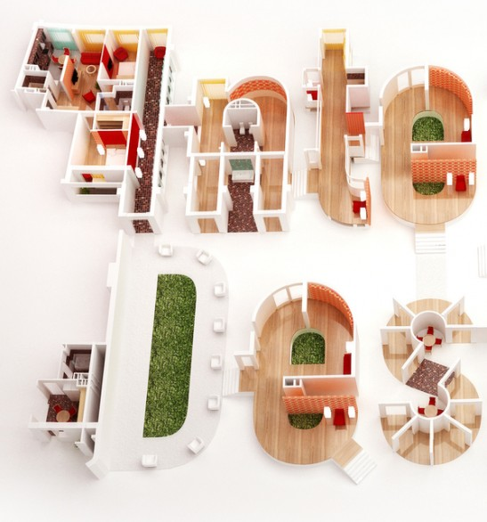 Interior Design Typography