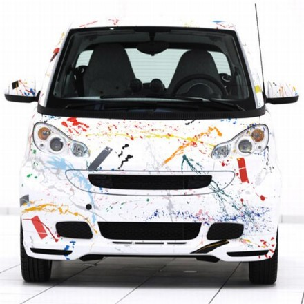 Salone Milan 2010 – Smart Car by Rolf Sachs