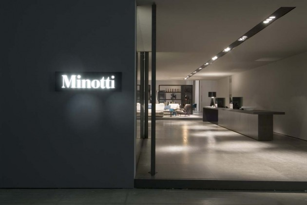 "Salone Milan 2010 – ""Senza Tempo"" Minotti's stylish presentation"