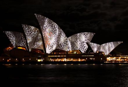 "Vivid Sydney Festival 2010 – ""Lighting the Sails"""