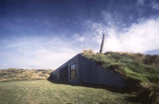 Camouflage architecture – underground buildings