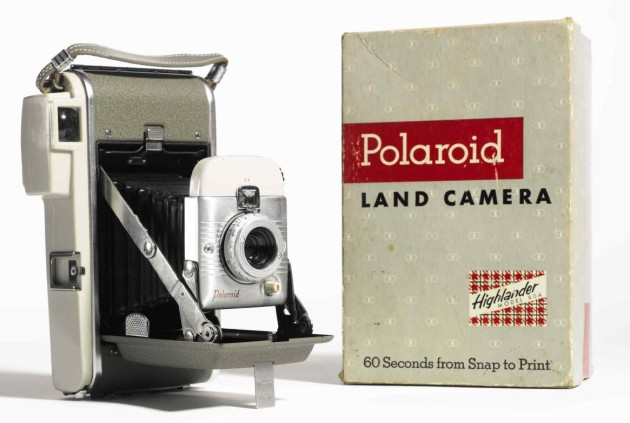 "Photographs from ""the Polaroid Collection"" @ Sotheby's New York"