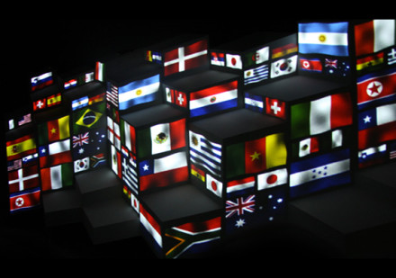 SuperUber – World Cup projection mapping