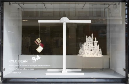 Selfridges' London display windows by Kyle Bean