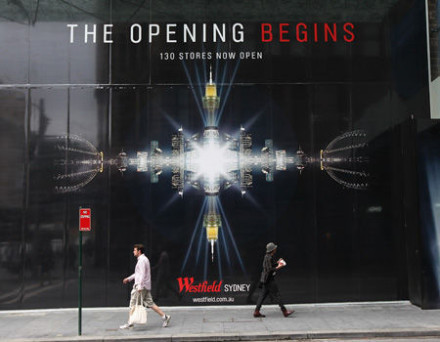 Westfield Sydney – re-opens for business