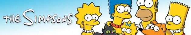 """Banksy tags """"The Simpsons"""""""