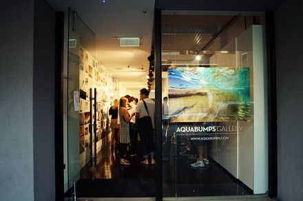 """A Day at Bondi"" book launch @ Aquabumps Gallery"