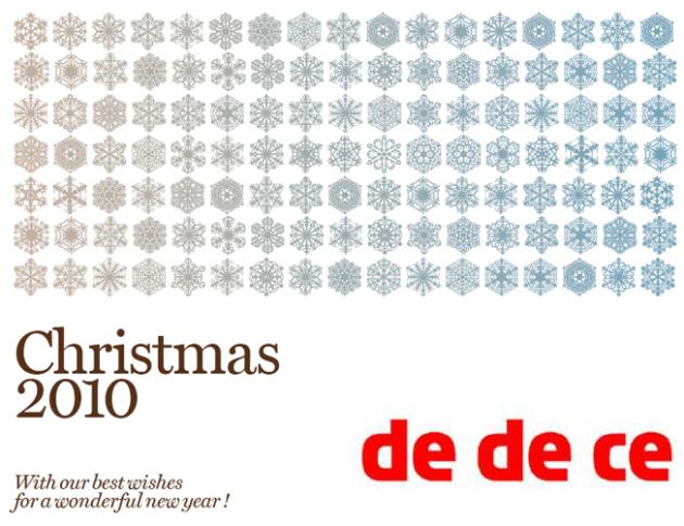 Christmas Greetings from dedece