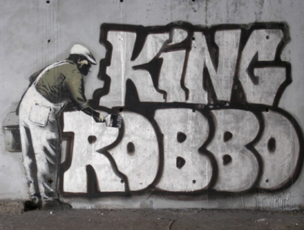 Graffiti Wars : Banksy vs Team Robbo