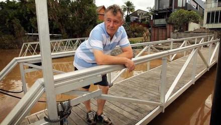 "Post flood ""Queenslander"" by Michael Rayner"