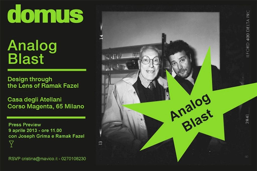Invitation Domus Analog Blast