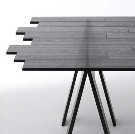 "Nendo's ""transparent tables"" @ Milan Design Week 2011"