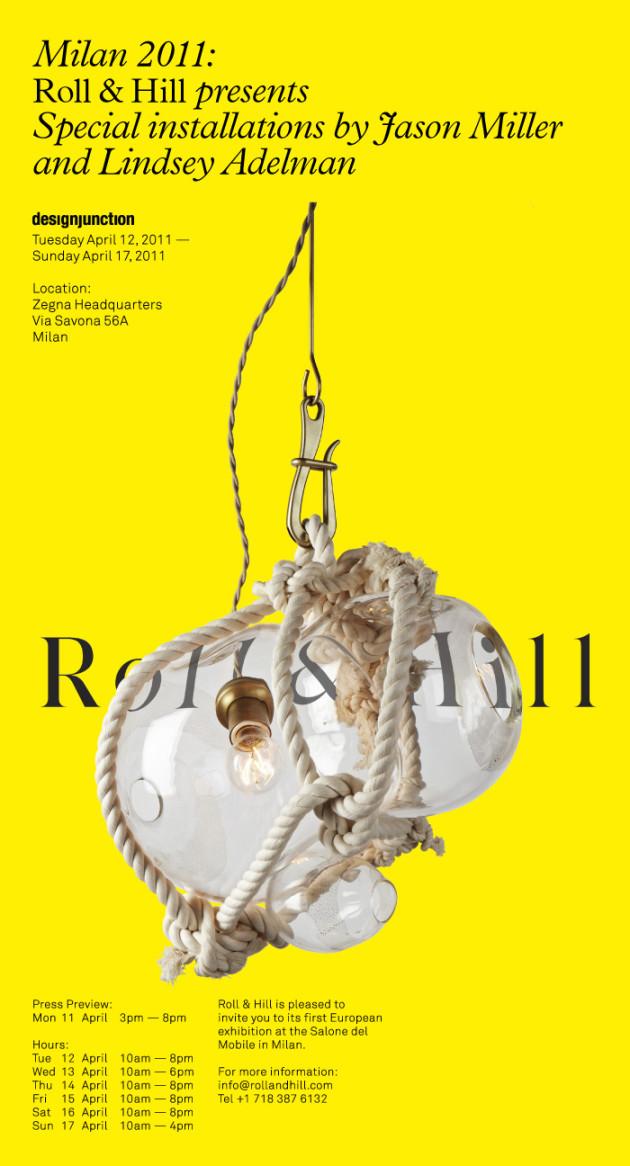 Roll & Hill @ Milan Design Week 2010