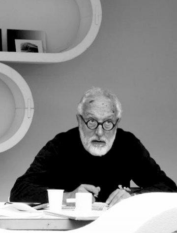 Andrea Branzi at Nilufar @ Milan Design Week 2011