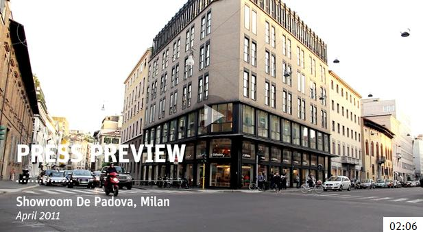 The De Padova Press Previews @ Milan Design Week 2011