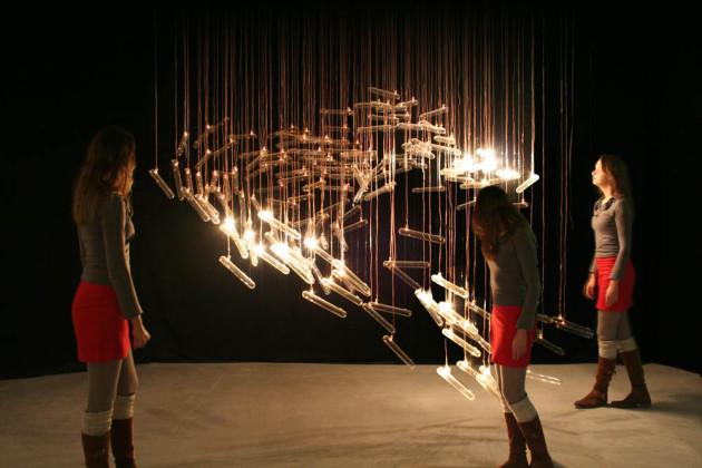 Studio Drift – Future Fragile III @ Milan Design Week 2011