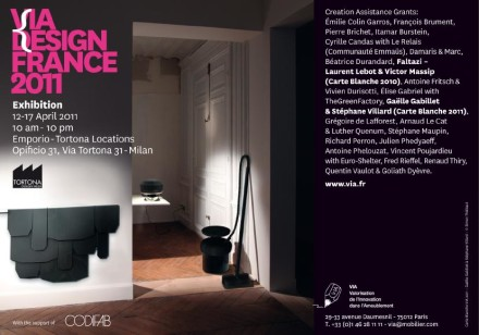 Ekokook + Objet Trou Noir – Via France @ Milan Design Week 2011