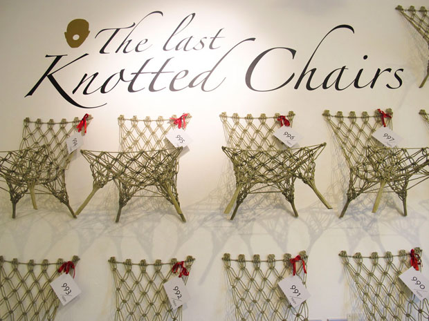 R.I.P Knotted Chairs @ Milan Design Week 2011