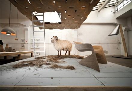 Hemp Chair by Werner Aisslinger @ Milan Design Week 2011