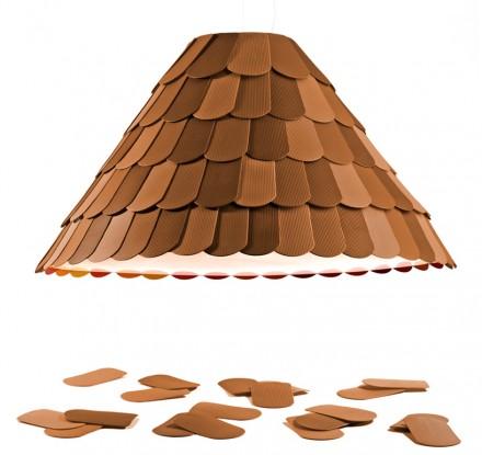 Roofer lamp by Benjamin Hubert @ Milan Design Week 2011