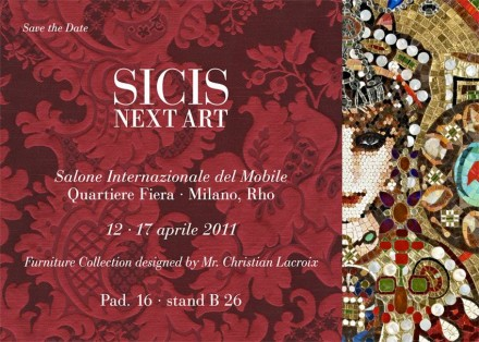 Christian Lacroix for SICIS @ Milan Design Week 2011