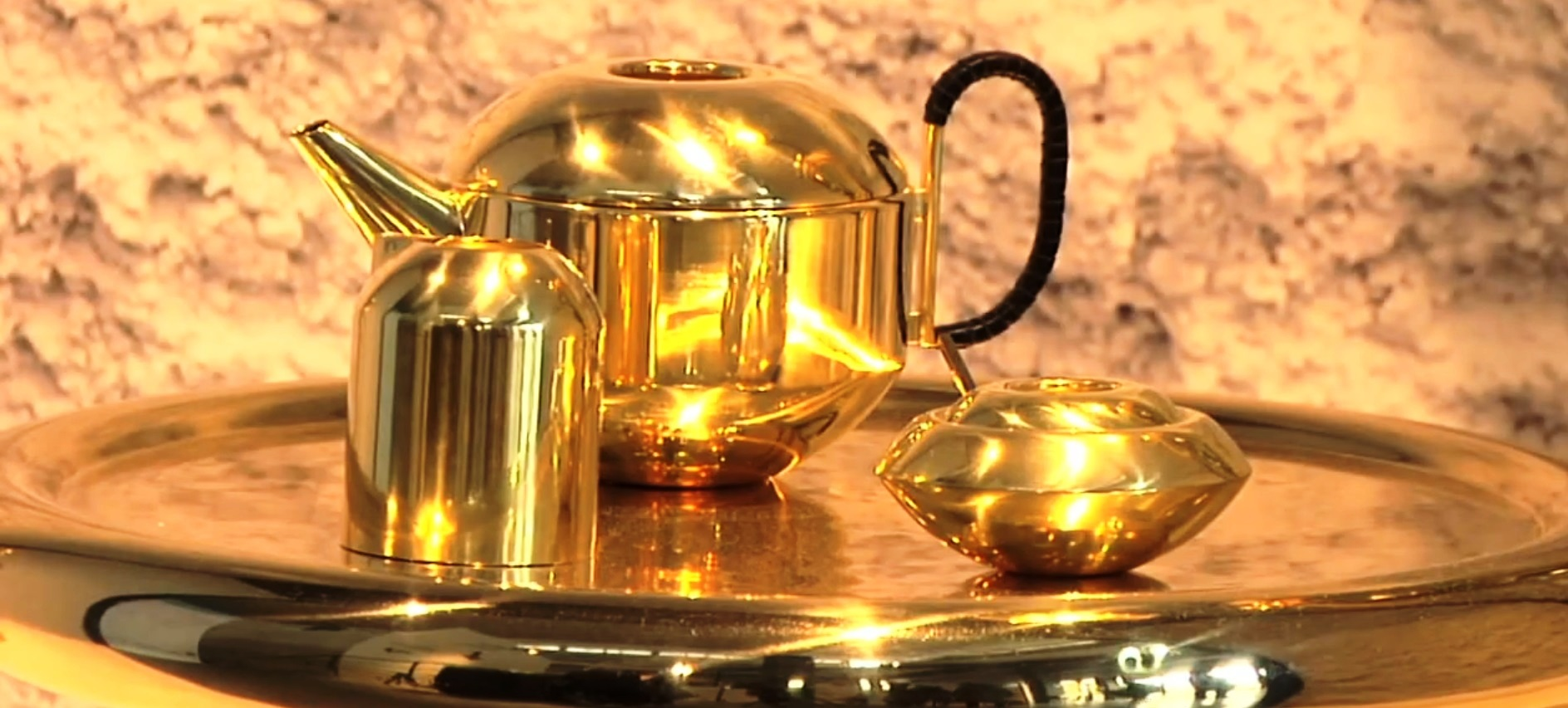 tom dixon ecelctic tea set