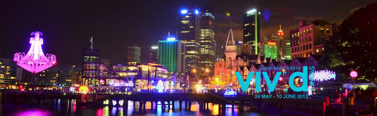 Vivid Sydney banner
