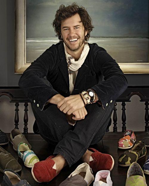 Blake Mycoskie – TOMS Social Entrepreneur (Buy1:Give 1)
