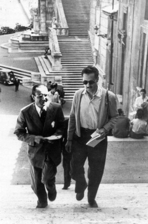 ignazio-gardella and franco-albini-in rome 1949