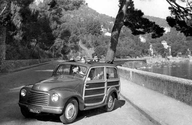 """Fiat Topolino 500C """"Giardinetta,"""" 1949"""