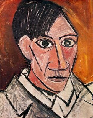picasso seld portrait