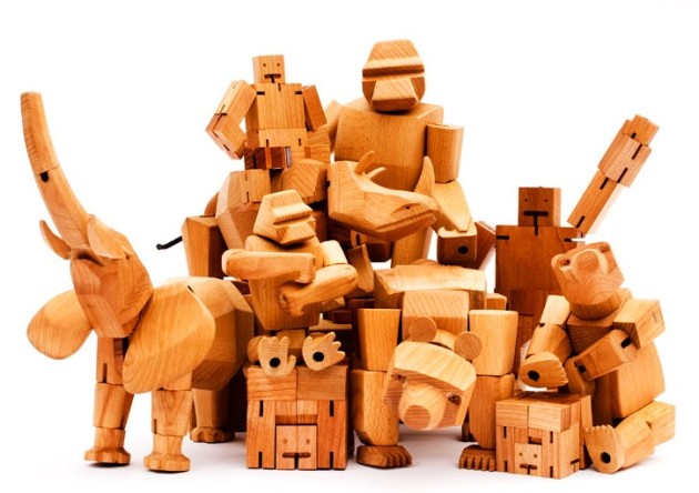 Iconic Wooden Toys by David Weeks