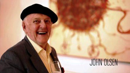 Tribute to John Olsen – Australia's greatest living painter ?