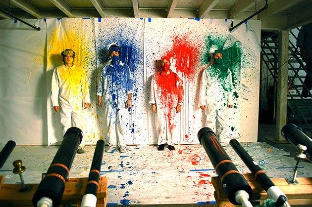 making OK GO video