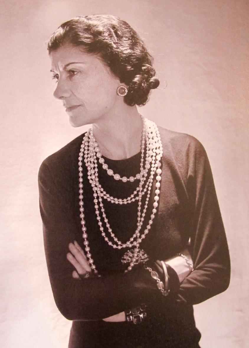 coco chanel n 1936 by Boris Lipnitzki when she was 53 years old