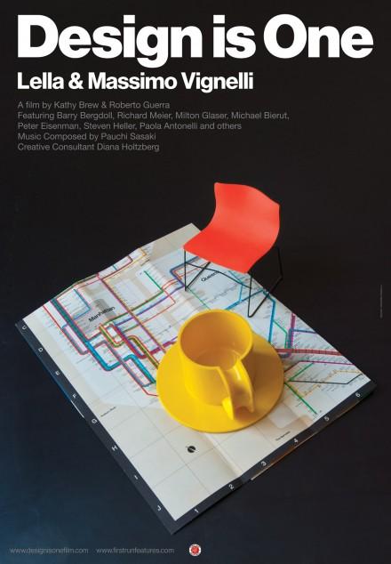 """Lella and Massimo Vignelli – """"Design is One"""""""