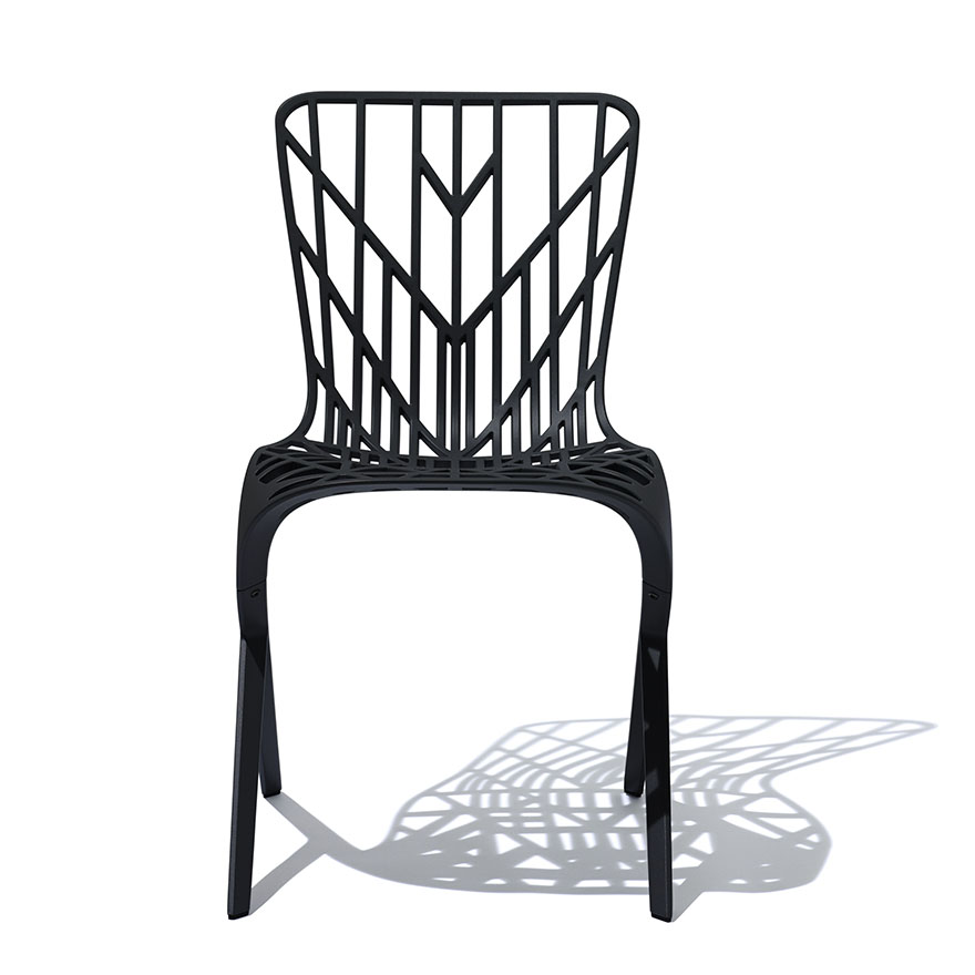 David Adjaye chairs for Knoll.   June 28, 2013