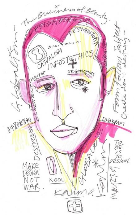 Sketch(s) by Karim Rashid