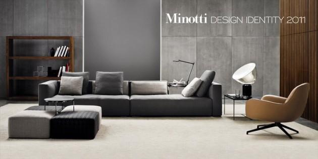 Minotti 2011 – 2012 Advertising Campaign