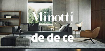 Minotti Design Identity 2011 @ dedece Sydney
