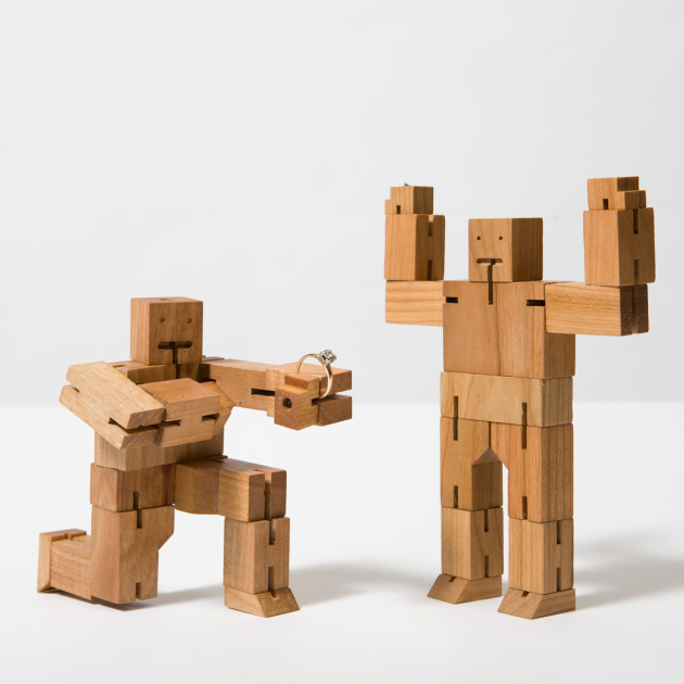 Valentines Day with Cubebots