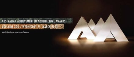 The 2012 Australian Achievement in Architecture Award