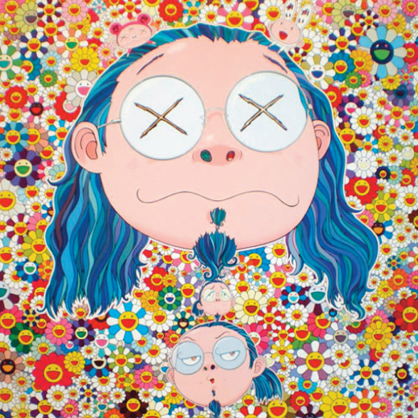 Ego by Takashi Murakami @ Museum of Islamic Art, Doha