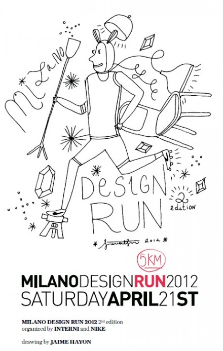 Milan Design Run @ Salone Milan 2012